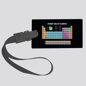 Periodic Table Of Elements Large Luggage Tag