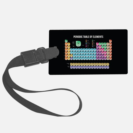 Periodic Table Of Elements Luggage Tag