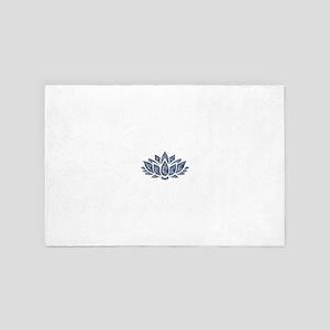 blue lotus 4' x 6' Rug