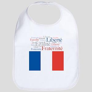 Celebrate France Bib