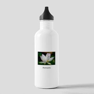 Lavendar Water Lily Namaste Gifts Water Bottle