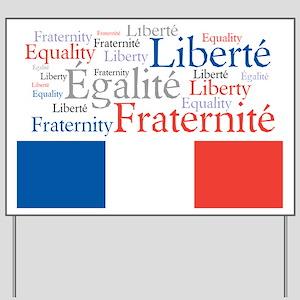 Celebrate France Yard Sign