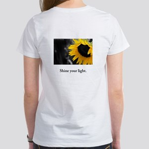 Shine Your Light Sunflower Radiance T-Shirt
