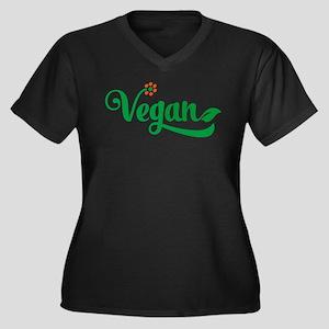 vegan Plus Size T-Shirt