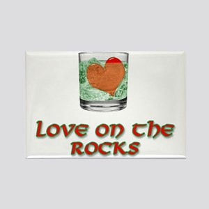 On the Rocks Rectangle Magnet