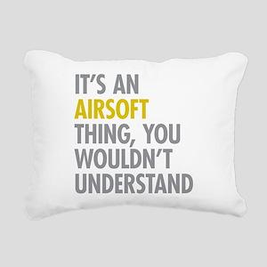 Airsoft Thing Rectangular Canvas Pillow