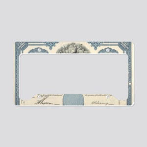Con Ed stock certificate License Plate Holder