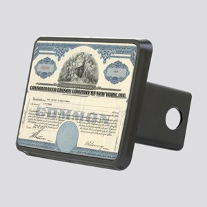 Con Ed stock certificate Rectangular Hitch Cover