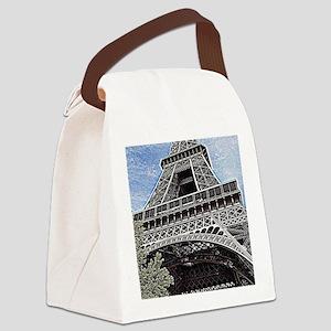 a little piece of Paris Canvas Lunch Bag