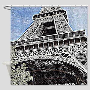 a little piece of Paris Shower Curtain