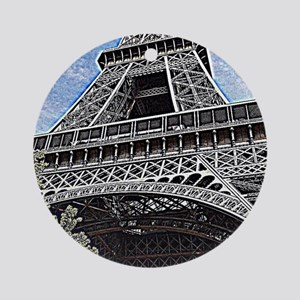 a little piece of Paris Round Ornament