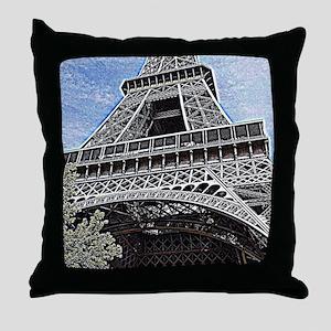 a little piece of Paris Throw Pillow