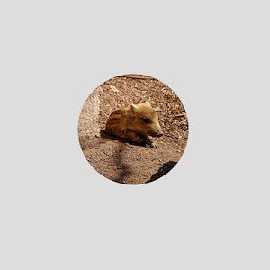 Baby Boar Mini Button