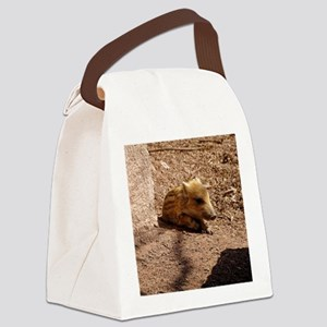 Baby Boar Canvas Lunch Bag