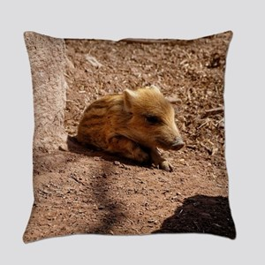 Baby Boar Everyday Pillow