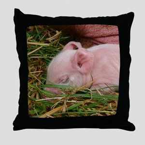 Sleeping Baby  Throw Pillow