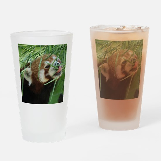 RedPanda20150812 Drinking Glass