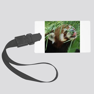 RedPanda20150812 Large Luggage Tag