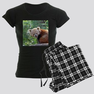 RedPanda20150813 Women's Dark Pajamas