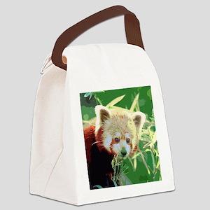 RedPanda20150814 Canvas Lunch Bag