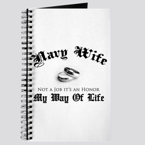 Navy Wife: Not a Job Journal