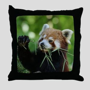 RedPanda20150818 Throw Pillow