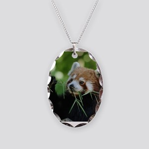 RedPanda20150818 Necklace Oval Charm