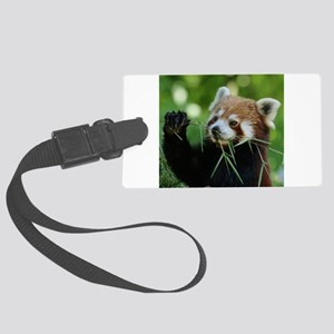 RedPanda20150818 Large Luggage Tag