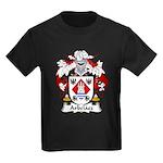 Arbelaez Family Crest Kids Dark T-Shirt