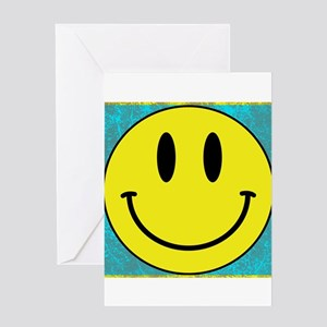 Happy FACE Smiley Greeting Cards