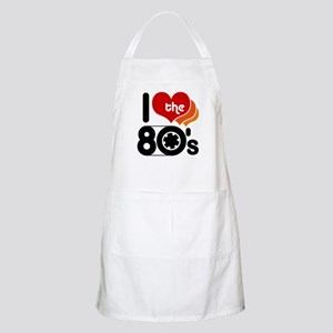 I Love the 80's BBQ Apron