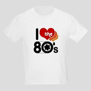 I Love the 80's Kids Light T-Shirt