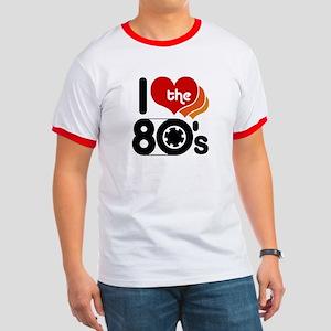 I Love the 80's Ringer T