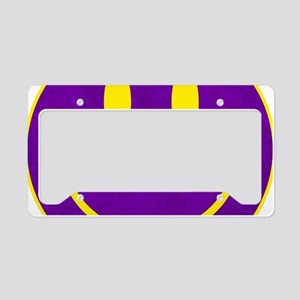 Happy FACE Louisiana State License Plate Holder