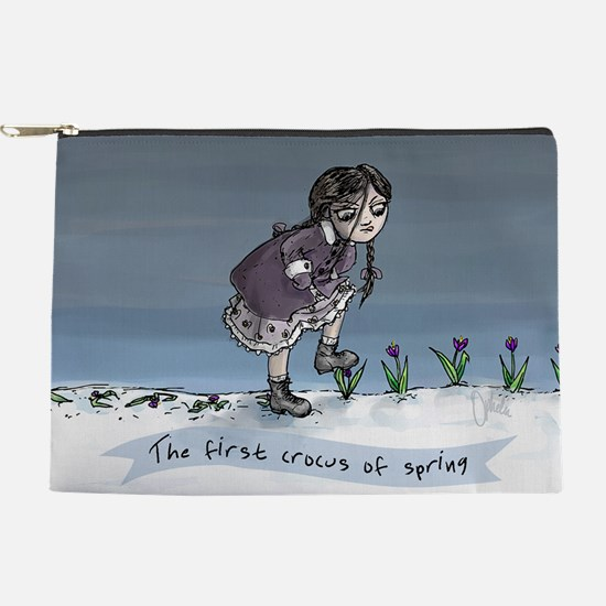 First Crocus Of Spring Makeup Bag