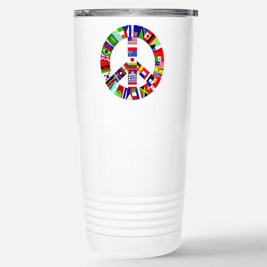 World Peace Stainless Steel Travel Mug