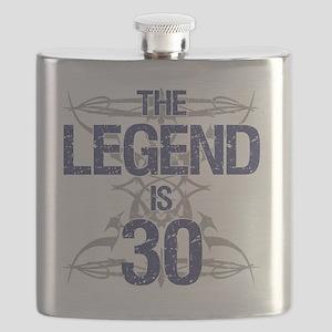 Legend 30th Birthday Flask