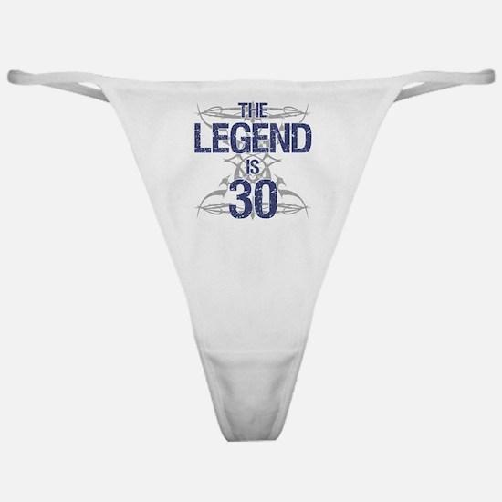 Legend 30th Birthday Classic Thong