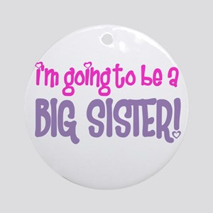 guess what big sister Ornament (Round)