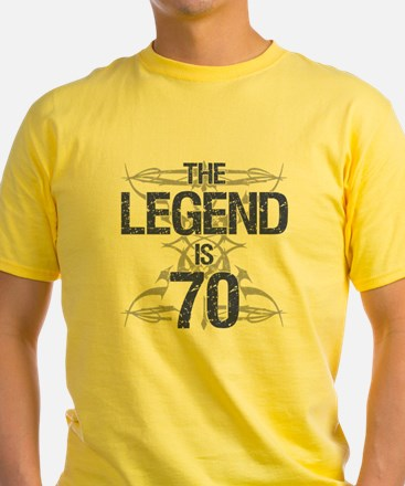 Legend 70th Birthday T