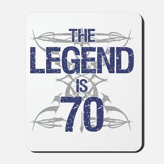 Legend 70th Birthday Mousepad