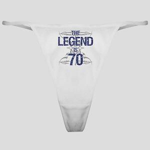 Legend 70th Birthday Classic Thong