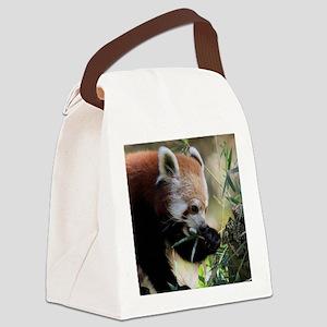 RedPanda20150806 Canvas Lunch Bag