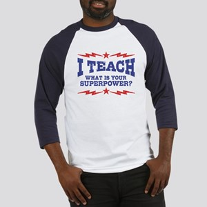 Funny Teacher Baseball Jersey