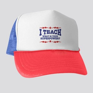 Funny Teacher Trucker Hat