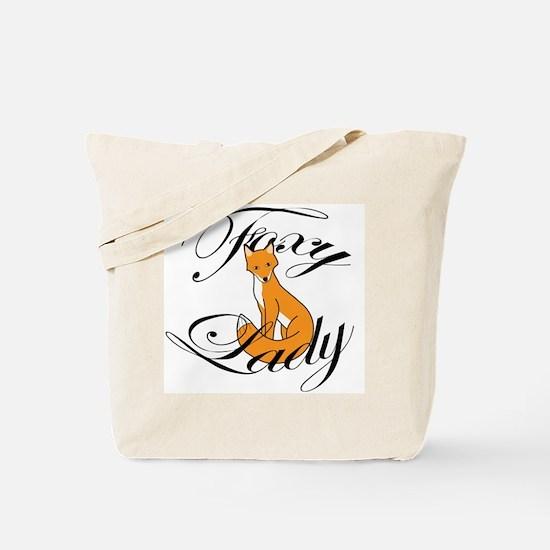Foxy Lady Tote Bag