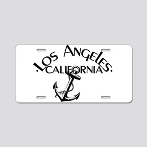 Los Angeles, California Anchor! Aluminum License P