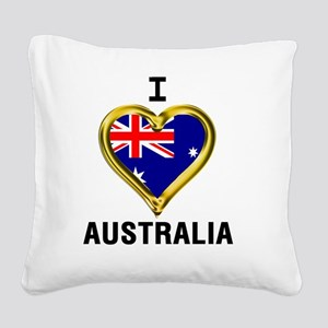 I HEART XX Square Canvas Pillow