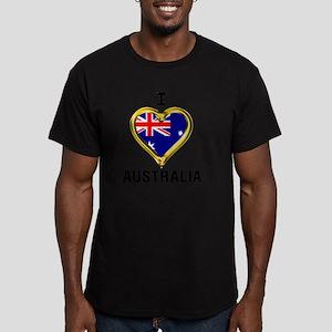 I HEART XX Men's Fitted T-Shirt (dark)