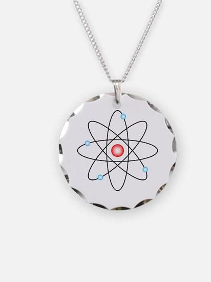 Atomic Necklace Circle Charm